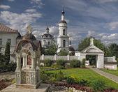 Chernoostrovsky female monastery — Stock Photo