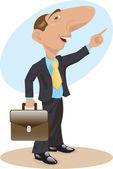 Businessman — Stock Vector