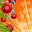 Christmas background — Stockvektor  #3925464