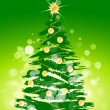 Christmas tree background — Stockvektor