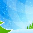 Christmas background — Stock vektor #4274522