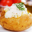Baked potato — Stock Photo #4023209
