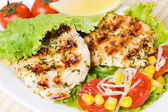 Grilled chicken — Stockfoto