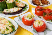 Stuffed vegetable — Stock Photo