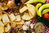 Voedingsmiddelen en nieuwe voedselingrediënten — Stockfoto