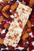 Protein rich granola bar — Foto de Stock