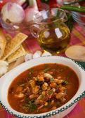 Kidney-bohnen-suppe — Stockfoto