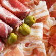 Prosciutto and bacon — Foto Stock