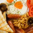 Traditional english breakfast — Stock Photo