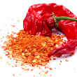 Dried red chili pepper — Stock Photo