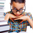 Young girl learning — Foto de Stock