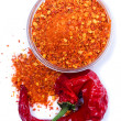 Ground chili pepper — Stock Photo