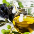 Olive oil and balsamic vinegar — Stock Photo #5048197