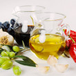 Стоковое фото: Olive oil and balsamic vinegar