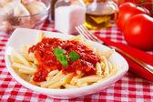Italian macaroni pasta — Stock Photo