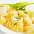 Italian pasta with cauliflower — Foto de Stock