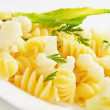 Italian pasta with cauliflower — Stock Photo