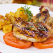 Grilled pork loin chop — Stock Photo #5053014