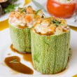 Stuffed zucchini — Stockfoto