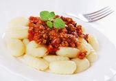 面疙瘩 di patata,意大利马铃薯面条 — 图库照片