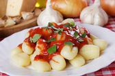 Gnocchi di patata — Stock Photo