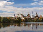 Rosyjski tradycyjne miasto — Zdjęcie stockowe