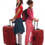 Travel teenagers — Stock Photo
