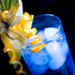 Stock Photo: Blue lagoon cocktail