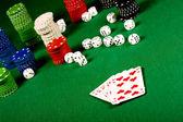 Bieg pokera — Zdjęcie stockowe