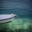 Single boat on the sea — Stock Photo