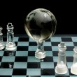 Stock Photo: Chess globe