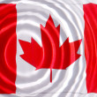 Canada flag under water — Stock Photo #4818927