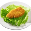 Fried chicken breast — Stock Photo