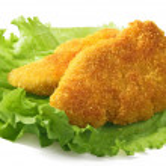 ������, ������: Fried chicken breasts