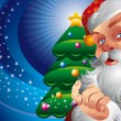 Christmas Santa Claus - Stockvectorbeeld