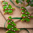 Christmas cookie tree — Stock Photo