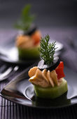 Cold appetizer — Stockfoto
