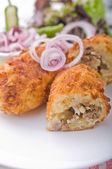Papas rellenas — Stock Photo