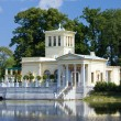 Stock Photo: Russia, Peterhof Olga's Pavilion on island i