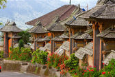 Bali, Indonesia. Settlement street — Stock Photo