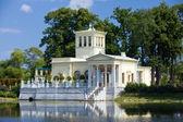 Russia, Peterhof Olga's Pavilion on island i — Stock Photo