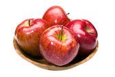 Juicy apples lays — Stock Photo