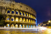 Italy. Rome. The night Collosseo — Stock Photo