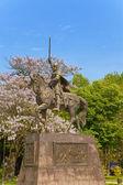 Monument tsaar kalojan. varna. bulgarije — Stockfoto