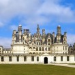 Stock Photo: Castle of a valley of the river Loire. France. Chambord castle