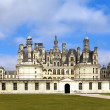 Castle of a valley of the river Loire. France. Chambord castle — Stock Photo