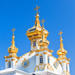 Russia, Petrodvorets- Peterhof Palace — Stock Photo #4765436