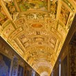 Italy. Rome. Vatican Museums - Gallery of the Geographical Maps - Foto de Stock  