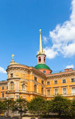 Russia. Saint petersburg. Engineering (Mikhailovsky) Castle — Stock Photo