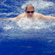 Sports swimmer in pool — Stock Photo